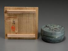 佐々木象堂 鋳銅製盒子