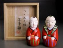 『芥子雛』芳賀強 雛人形