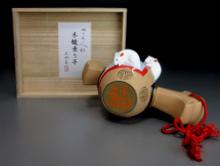 『木槌乗り子』 芳賀強 雛人形