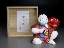 『獅子舞』 芳賀強 雛人形