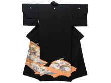 古典柄 黒留袖