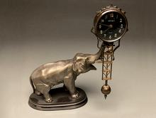 MEIKO 象の振り子時計