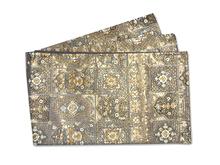 金箔花文刺繍袋帯
