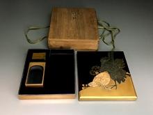 蒔絵 硯箱